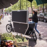 Vélo cargo électrique Urban Arrow Cargo chargement