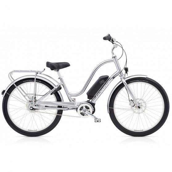 Vélo électrique Electra Townie Go 8i Femme Argent