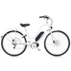 Vélo électrique Electra Townie Commute Go Femme Blanc