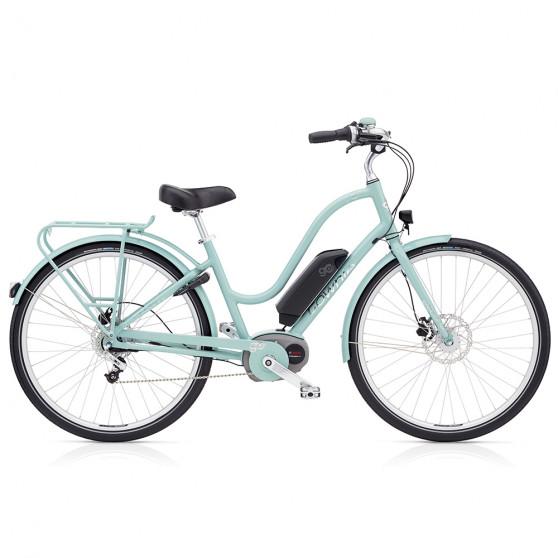 Vélo électrique Electra Townie Commute Go Femme Bleu