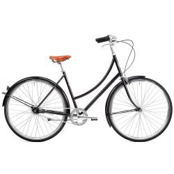 Vélo de ville Pelago Brooklyn noir
