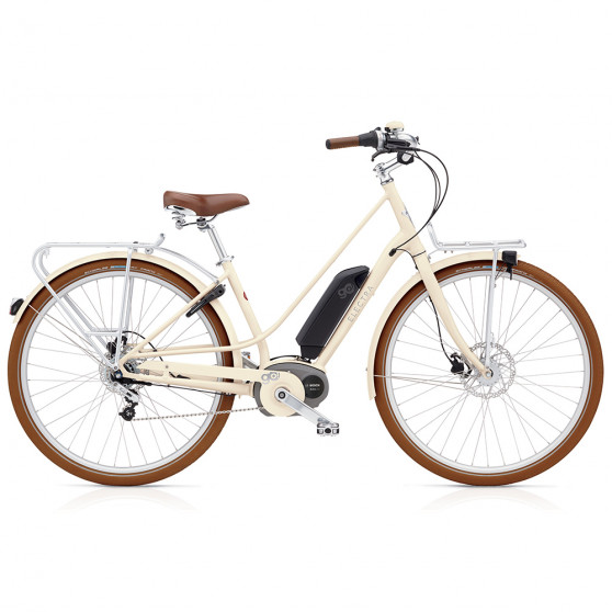 Vélo de ville électrique Electra Loft Go Beige