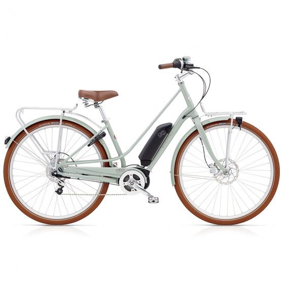 Vélo de ville électrique Electra Loft Go Gris