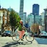 Vélo de ville électrique Electra Loft Go Bleu femme