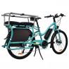 Vélo cargo électrique Yuba Electric Boda Boda Aqua barres Monkey