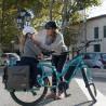 Vélo cargo électrique Yuba Electric Boda Boda sacoches Baguette