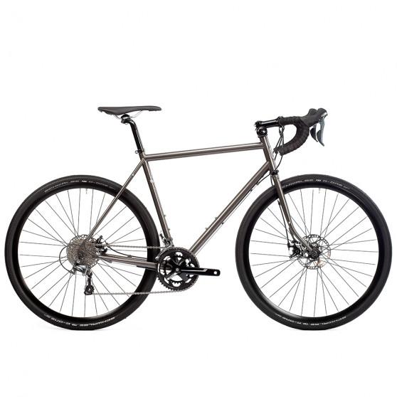 Vélo Gravel Pelago Stavanger Outback gris