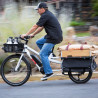 Vélo cargo électrique Yuba Spicy Curry chargement avant/arrière