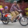 Vélo cargo électrique Yuba Spicy Curry deux enfants