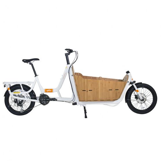 Vélo cargo Yuba Supermarché caisse Bamboo Box