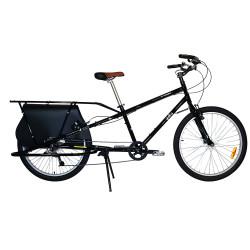 Vélo cargo Yuba Mundo Classic noir