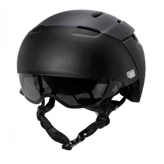 Casque vélo Kali Protectives City Noir visière