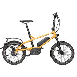 Vélo de ville électrique Riese&Müller Tinker Vario jaune