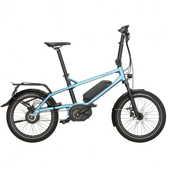 Vélo de ville électrique Riese&Müller Tinker Vario bleu