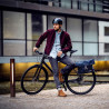Sacoche vélo ville Ortlieb Twin City Urban 9L porte-bagages