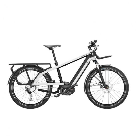 Vélo cargo électrique Riese&Müller Multicharger Light blanc
