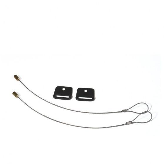 Antivol câble Ortlieb pour sacoches QL 2.1