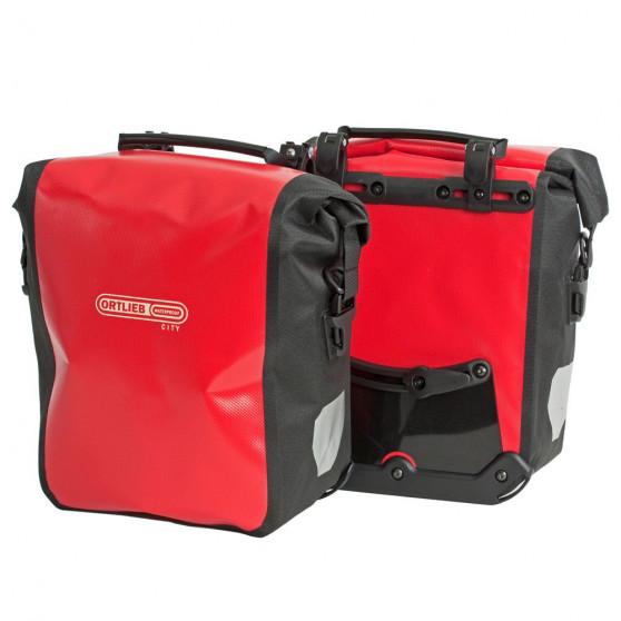 Paire de sacoches avant Ortlieb Sport-Roller City 2 x 12.5L rouge