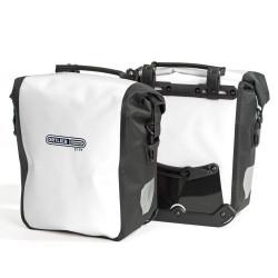 Paire de sacoches avant Ortlieb Sport-Roller City 2 x 12.5L blanc