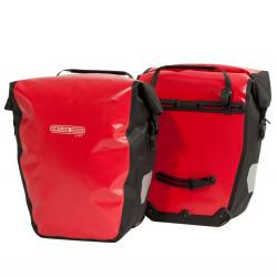 Paire de sacoches arrière Ortlieb Back-Roller City 2 x 20L rouge