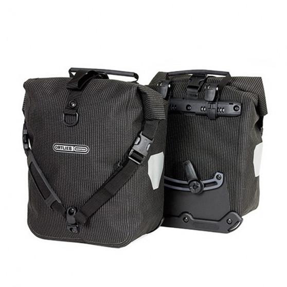 Paire de sacoches avant Ortlieb Sport-Roller High Visibility 2 x 12.5L noir