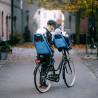 Porte-bébé vélo arrière sur cadre Thule Yepp Maxi noir
