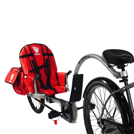 Remorque vélo à pédales Weehoo iGo Venture Sacoches 31L