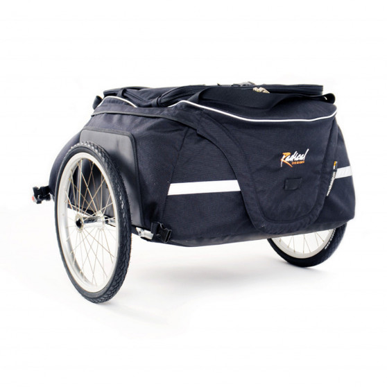 Remorque de voyage Radical Design Cyclone IV Chubby - Spéciale vélo pliant
