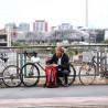 Sacoche de vélo ville Ortlieb Vario QL3.1 23L bleu