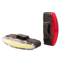 Éclairages avant et arrière USB Spanninga Arco - 80 / 30 lumens