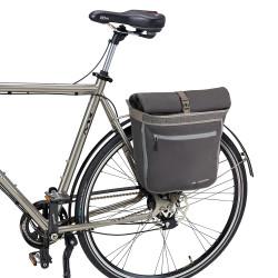 Sacoche arrière vélo ville Vaude ShopAir Back 38L raisin