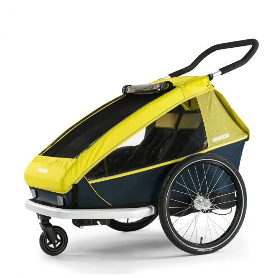 Remorque vélo enfant Croozer Kid for 2 poussette