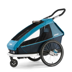 Remorque vélo enfant Croozer Kid Plus for 1 poussette