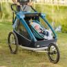 Remorque vélo enfant Croozer Kid Plus for 2 bébé