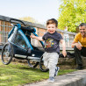 Remorque vélo enfant Croozer Kid Plus for 1
