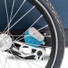 Remorque vélo enfant Croozer Kid Plus for 1 amortisseur AirPad
