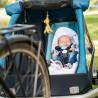 Remorque vélo enfant Croozer Kid Plus for 2 hamac bébé