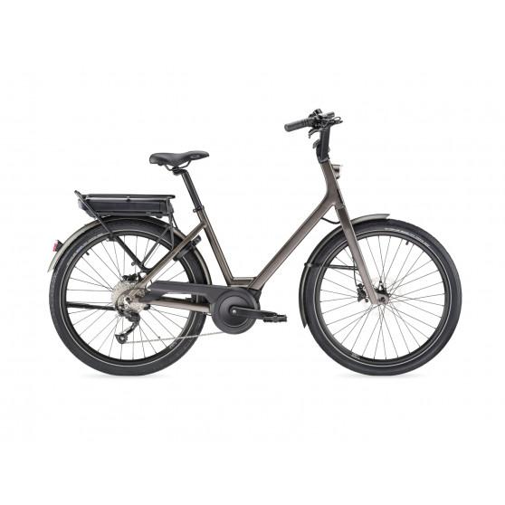Vélo de ville électrique Moustache Lundi 26.1 2020 gris foncé