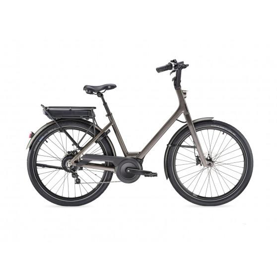 Vélo de ville électrique Moustache Lundi 26.2 2020 gris foncé