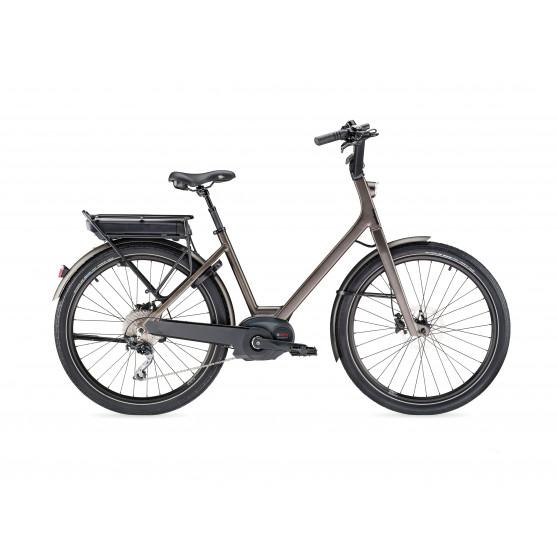 Vélo de ville électrique Moustache Lundi 26.3 2020 gris foncé
