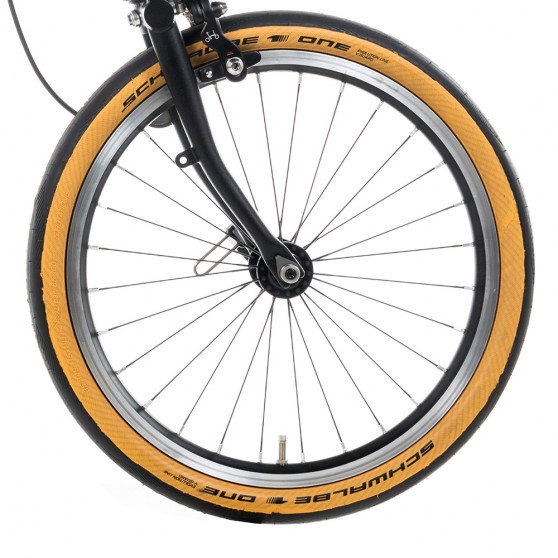 Pneu Schwalbe One Tanwall pour Brompton