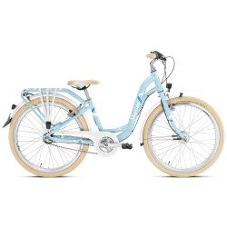 """Vélo enfant 24"""" Puky Skyride Light 24-7 bleu"""