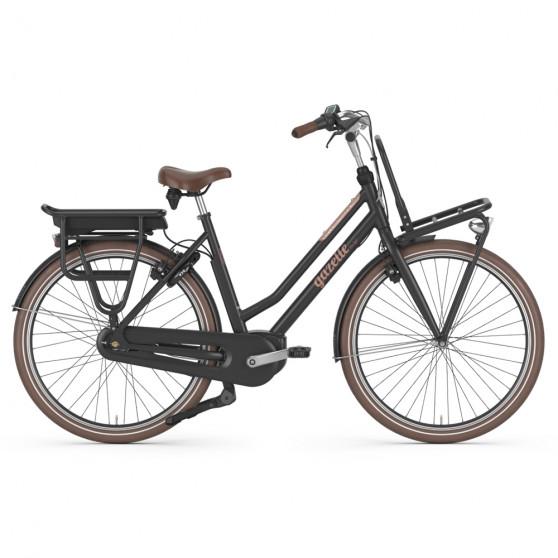 Vélo de ville électrique Gazelle Miss Grace C7 HMB noir