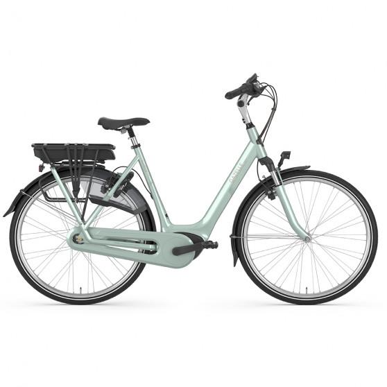 Vélo de ville électrique Gazelle Orange C7+ HMB noir