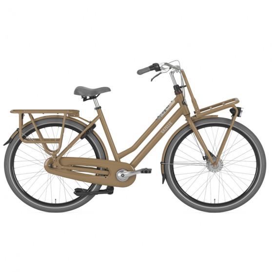Vélo de ville Gazelle Heavy Duty NL femme noir