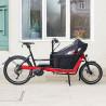 Vélo cargo électrique Riese&Müller Packster 40 rouge