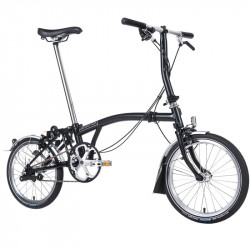 Vélo pliant Brompton type S monovitesse lime green
