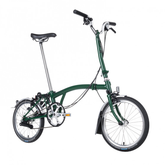 Vélo pliant Brompton type H monovitesse red