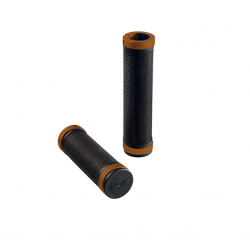 Poignées Brooks Cambium Comfort 130/130 mm black/orange