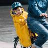 Cape de pluie enfant imperméable Rainette pour porte-bébé vélo arrière